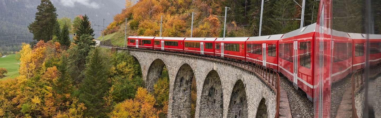 Urlaub mit der Bahn Europa
